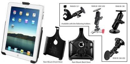 iPad Cockpot holder complete set